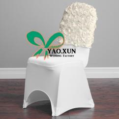 Used Spandex Chair Covers Crate And Barrel Parsons Slipcover Satin Rosette Cap Hood For Banquet Cover Quality From Yaoxun5825 62 01 Dhgate Com