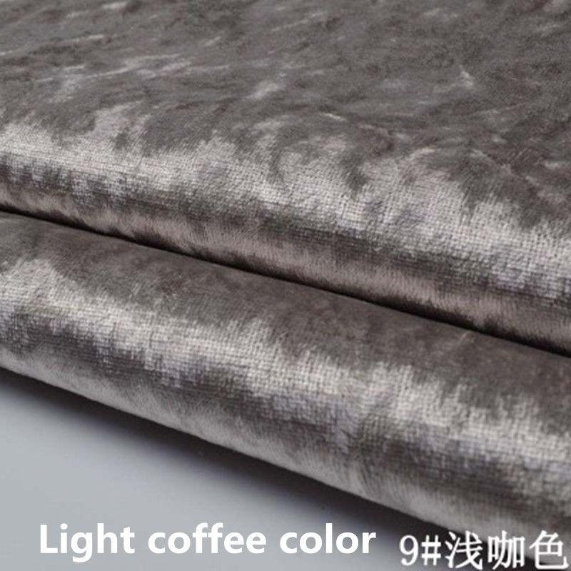 Sofa fabric material online for Velvet material for curtains