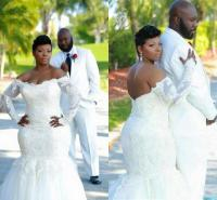 Plus Size African Wedding Dresses Mermaid Style 2016 Full ...