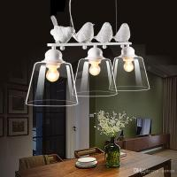 Creative 3 Lights Birds Restaurant Pendant Lamp Nordic ...