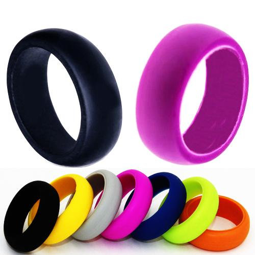 Wedding Rings With Engraved Silicone Womens Wedding Ring