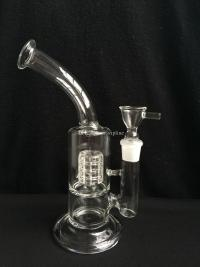 24cm Water Glass Bong Smoking Pipe With Honeycomb Birdcage ...