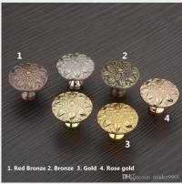 Antique Copper Door Knob/pull Red Bronze, Bronze, Golden ...
