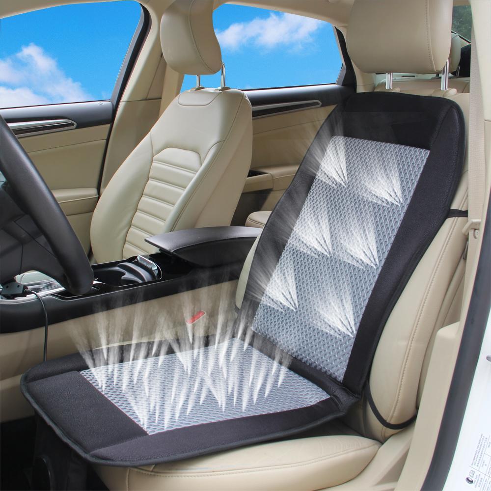 12v Car Air Cushion Car Summer Cool Ventilated Car Seat