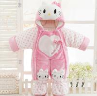 2017 Hello Kitty Baby Fashion Girls Hello Kitty Suits ...