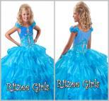 Light Blue Cinderella Prom Dresses