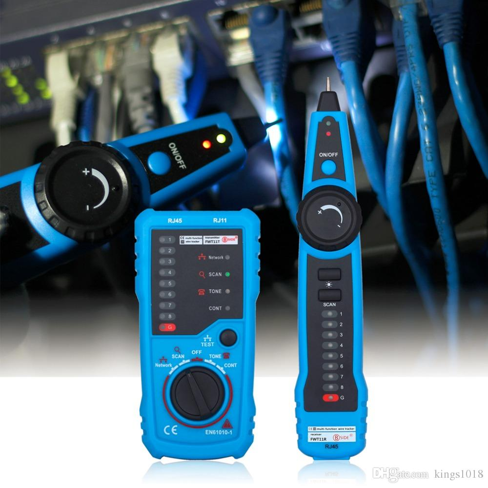 hight resolution of high quality rj11 rj45 cat5 cat6 telephone wire tracker tracer toner ethernet lan network cable tester detector line finder network documentation tool