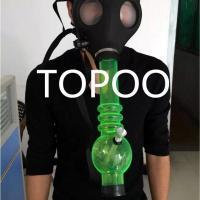 2017 Gas Mask Pipes Plastic Smoking Pipe Gas Mask Bong ...