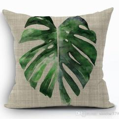 Chair Covers T Cushion Rocking Outdoor Tropical Green Leaves Cover Nature Banan Leaf Throw Pillow Case For Sofa Bed Couch ...