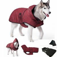 Large Dog Clothes Warm Winter Jacket Coat Waterproof ...