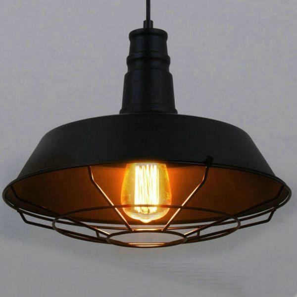 Vintage Industrial Pendant Light Fixtures