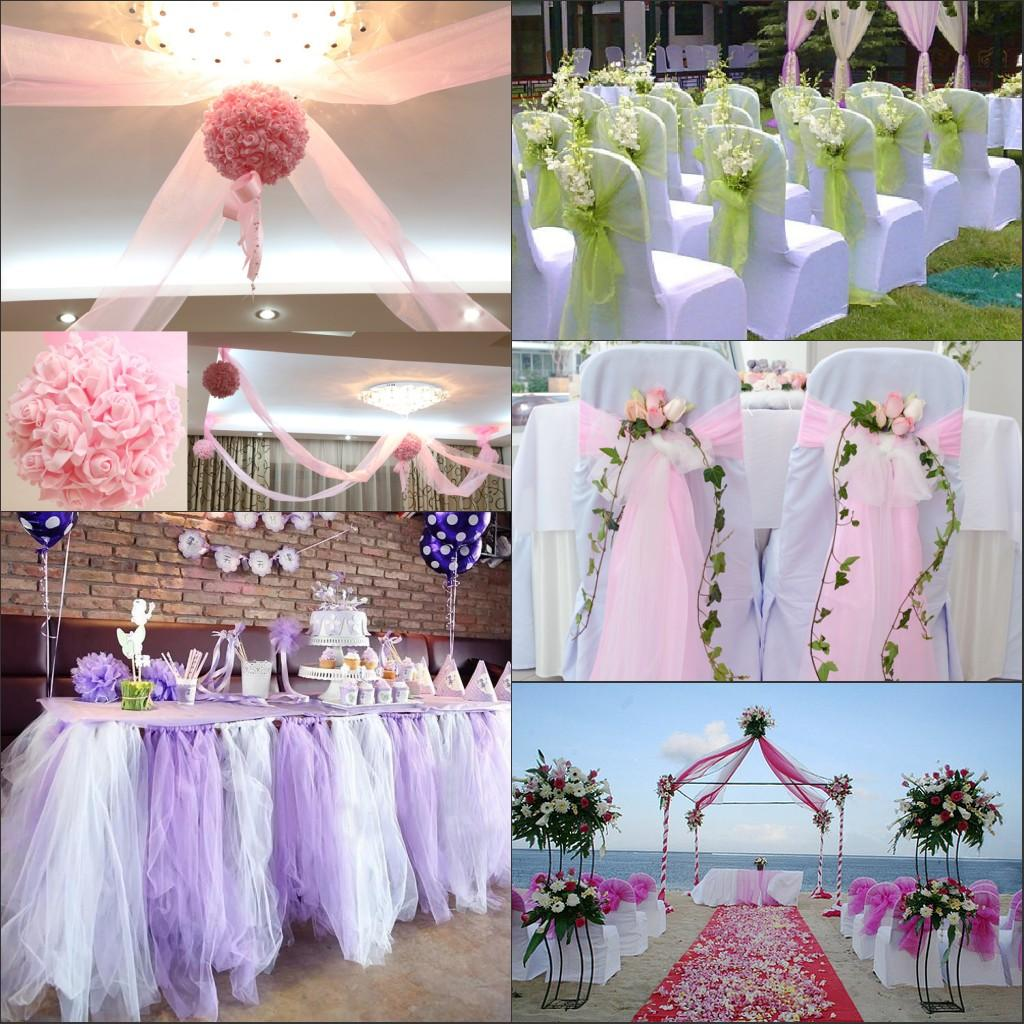 chair covers wedding costs walmart for recliners 2019 2015 organza chairs table decorations