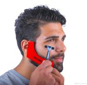 2019 beard styling template stencil