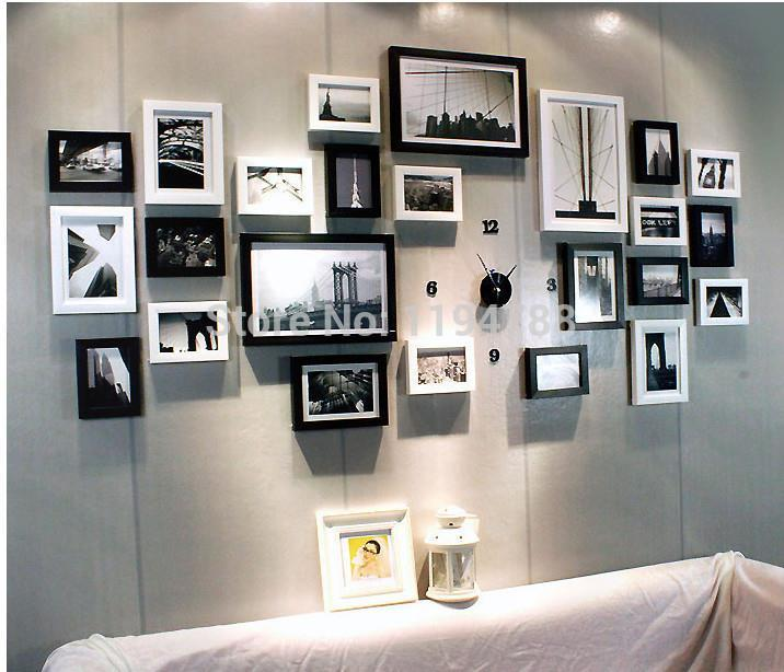 Modern Art Love Family Wall Decoration Wood Picture Photo Frame