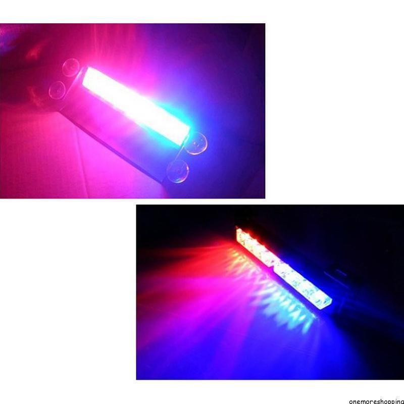 Red And Blue Led Strobe Lights