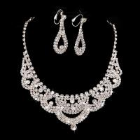 2015 Bridal Necklace Earring Sets Chain New Piece of High ...