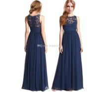 Junior Bridesmaid Dresses Navy Blue