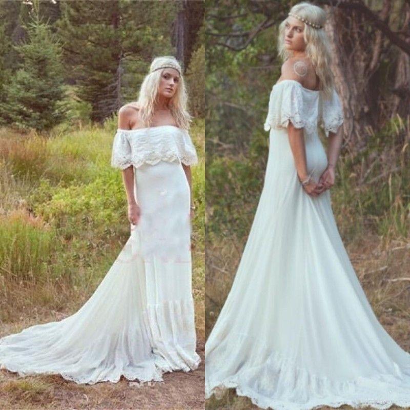 Vintage Hippie Wedding Dresses_Wedding Dresses_dressesss