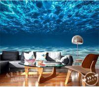 Charming Deep Sea Photo Wallpaper Custom Ocean Scenery ...