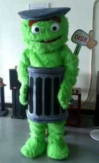 Oisk Customized Sesame Street Oscar The Grouch Mascot ...
