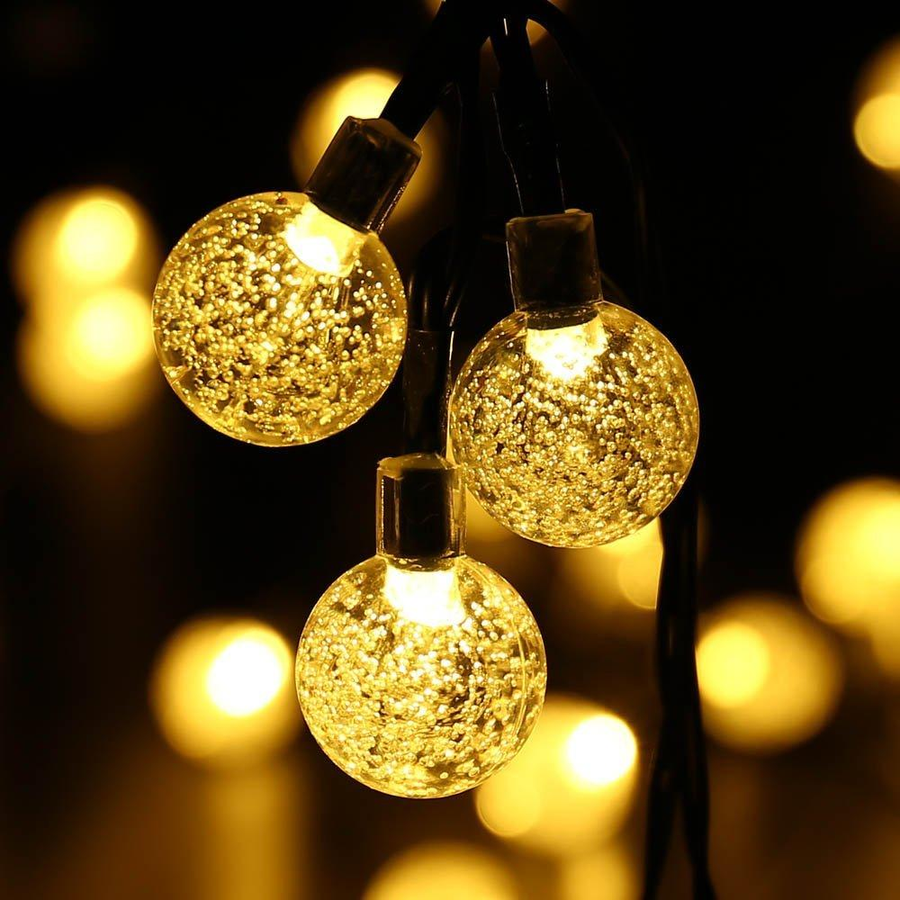Solar Outdoor Patio String Lights