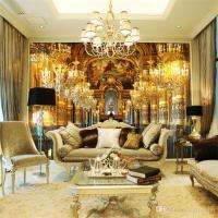 European Luxury Style Photo Wallpaper Wall Mural Designer ...