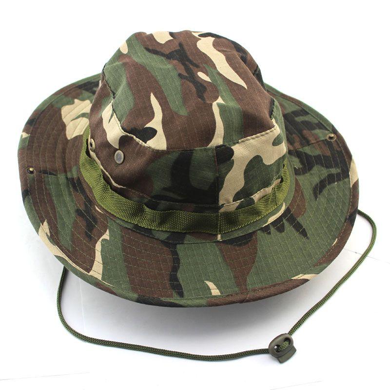 Wholesale Camoflauge Bucket Hat Army Military Fashion