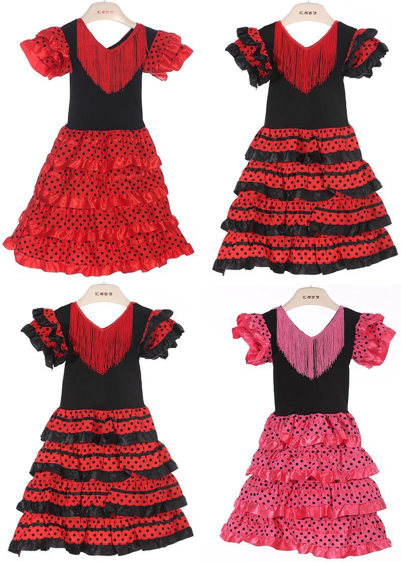 2017 Baby Girls Dress Polyester Material Baby Girl