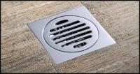 2018 Drainer Square Shower Floor Drain With Removable ...