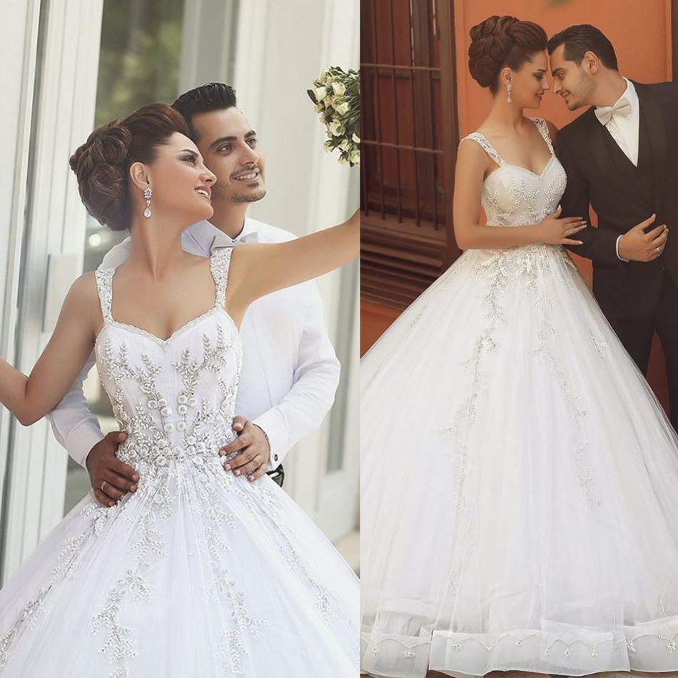 Discount Said Mhamad 2016 Bodice Corset Wedding Dresses