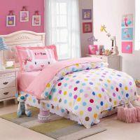 Kids Colorful Polka Dot Cute Comforter Bedding Sets Twin ...