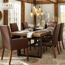 2019 American Country Vintage Wrought Iron