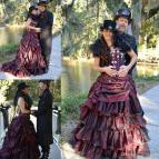 Steampunk Victorian Gothic Wedding Dresses
