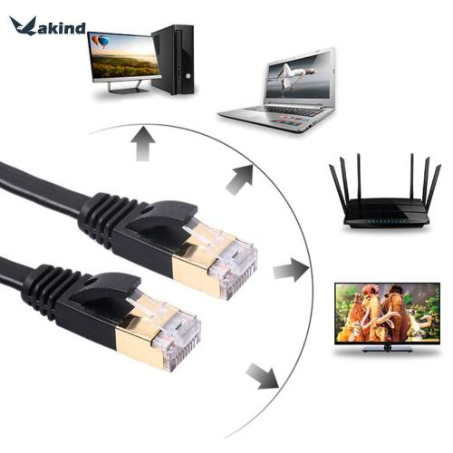 small resolution of wholesale 10 gigabit home office flat ethernet cable cat 7 rj45 network ethernet patch cord lan cable for computer router 1m 1 8m 3m computer cables and