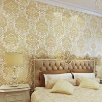 Luxury 3D Damask Wallpaper Silver Grey TV Background Wall ...