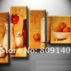 Artwork For Kitchen Ikea Kitchens Reviews Dining Room Oil Painting Canvas Stretched Modern Cheap Jazz Paintings Best Lions