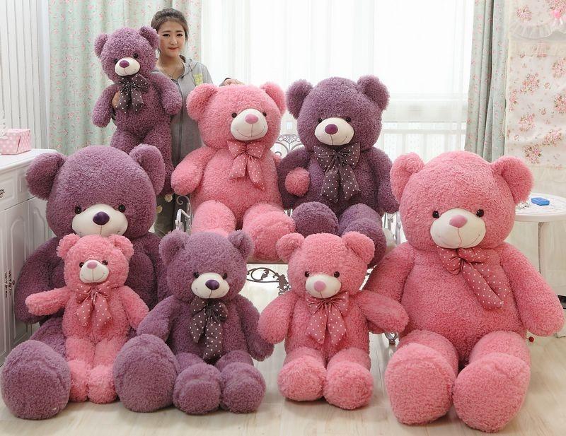 120cm Giant Plush Teddy Bear Birthday Gifts For Girl