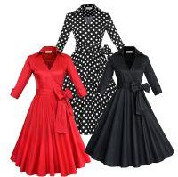 Fashion New Audrey Hepburn Vintage Style Casual Dresses ...