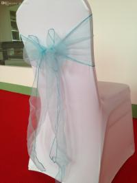 Wholesale Fancy Cheap Baby Blue Tiffany Blue Chair Sash ...