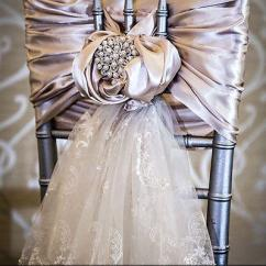 White Chair Covers With Ivory Sash Plastic Folding Lounge Best 2015 Wedding Supplies Lace Luxury Tiers Romantic Personalized Diy ...