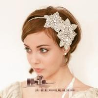 2015 New Short Hair The Bride Headdress Hair Accessories