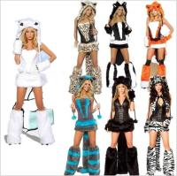 Deluxe Blue Cheshire Cat Costume New Fashion Sexy Cheshire ...