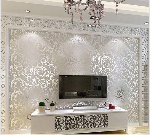 3d European Waterproof Living Room Wallpaper bedroom Sofa Tv Backgroumd of Wall Paper Roll