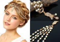 2016 Bohemian Wedding Bridal Hair Accessories Chains for ...