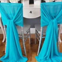 Teal Chair Covers Electric Was Invented By Soft Blue Chiffon Wedding And Sashes 2015 New Custom Cheap Flag Discount Halloween