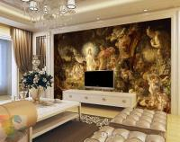 Classical Oil Painting Wall Murals Custom 3d Wallpaper ...