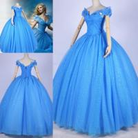 2015 Newest Cinderella Wedding Dress Famous Cinderella