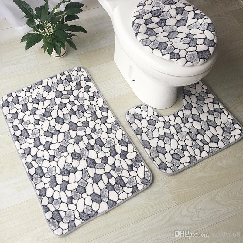 living room rug sets top paint colors for 2017 2019 modern printed toilet mat set anti slip bath bathroom shower rugs cover door floor from cindy668
