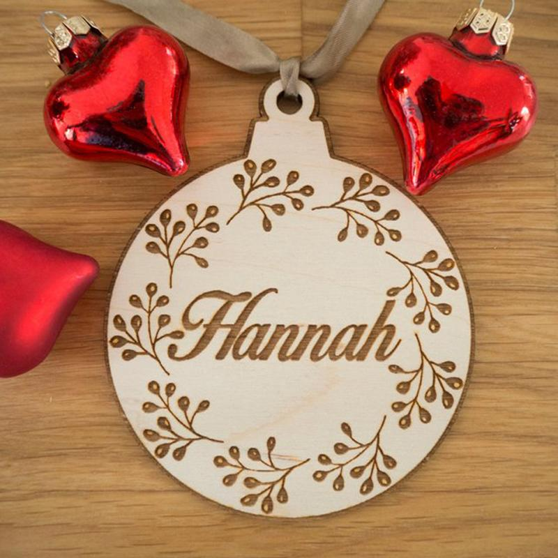 2018 personalized christmas ornaments