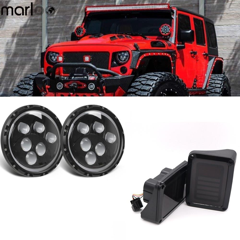hight resolution of for 2007 2018 jeep jk wrangler 7 120w led jpg